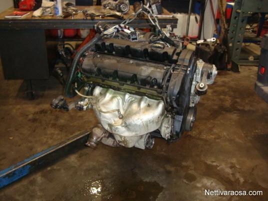 Nettivaraosa - Citroen C5 2.0i 2005 - Moottori - Auton varaosat - Nettivaraosa