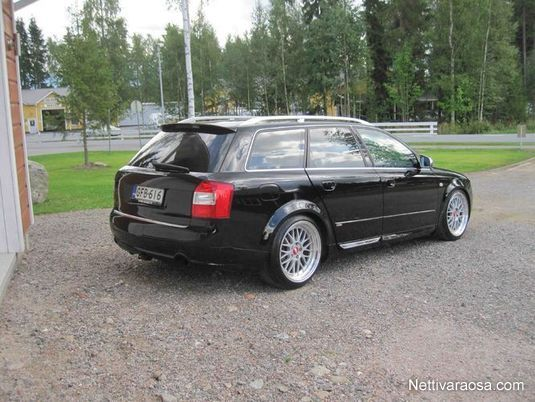 nettivaraosa audi a4 b6 b7 s line spoileri tuning parts nettivaraosa. Black Bedroom Furniture Sets. Home Design Ideas