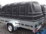 jt-trailer 300 mustalla kuomulla 15kpl