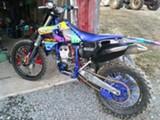 Yamaha  Yz250f 2001