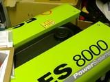 Agregaatti Pramac ES5000 ja 8000