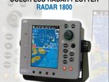 JRC RADAR 1800  Color LCD RADAR-PLOTTER