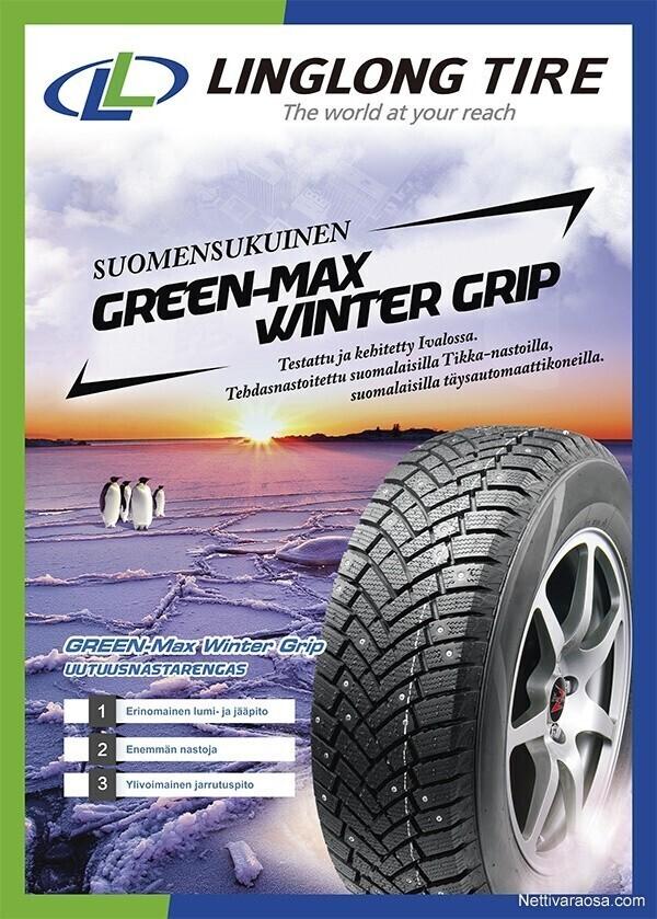 Linglong Greenmax Winter Grip Kokemuksia