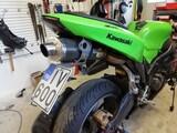 Kawasaki zx6r perä