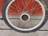 Tuntematon 50-60 luvun mopon va ja rengas