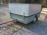 Retro Kuomukärry+vene traileri