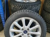"Ford 16"" 10-puolainen Sparkle Silve"