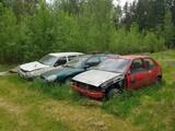 Ford  ja VW Fiesta, Mondeo ja Golf