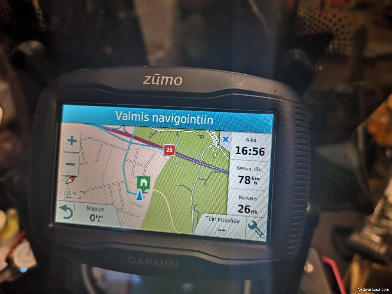 Navigaattori Moottoripyörään