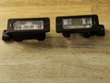 BMW E61 Rekisterikilven valot