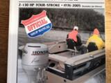 Clymer Honda Perämoottorit