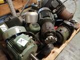 Sähkömoottorit Sähkömoottoreiden varaosat