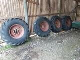 Goodyear,Dunlop Traktori,perävaunu