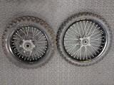 Enduro Vanteet ja renkaat