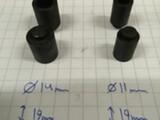 Kovat nostajat  11mm ja 14mm
