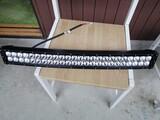 Curved 144W LED lisävalopaneeli UUSI