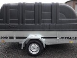 JT-Trailer 300x150x35 lava musta kuomu