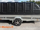 JT-TRAILER 350x150x35 musta kuomu