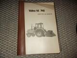 Valtra VL 742 ohjekirja