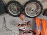KTM SX 85  Sx 85 osia ja pikkupyörät