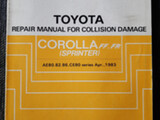 Toyota Corolla GT ym osia