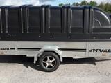 JT-TRAILER 350x150x35 kuomu musta