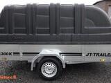 JT-TRAILER 300x150x35+musta kuomu