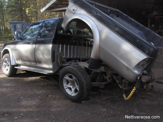 Nettivaraosa - Mitsubishi l200 2005 - 2,5td 4x4 - Spare- and crash