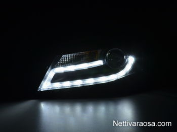 Nettivaraosa Audi A4 B8 Tubelight Led Ajovalot Tuning Parts