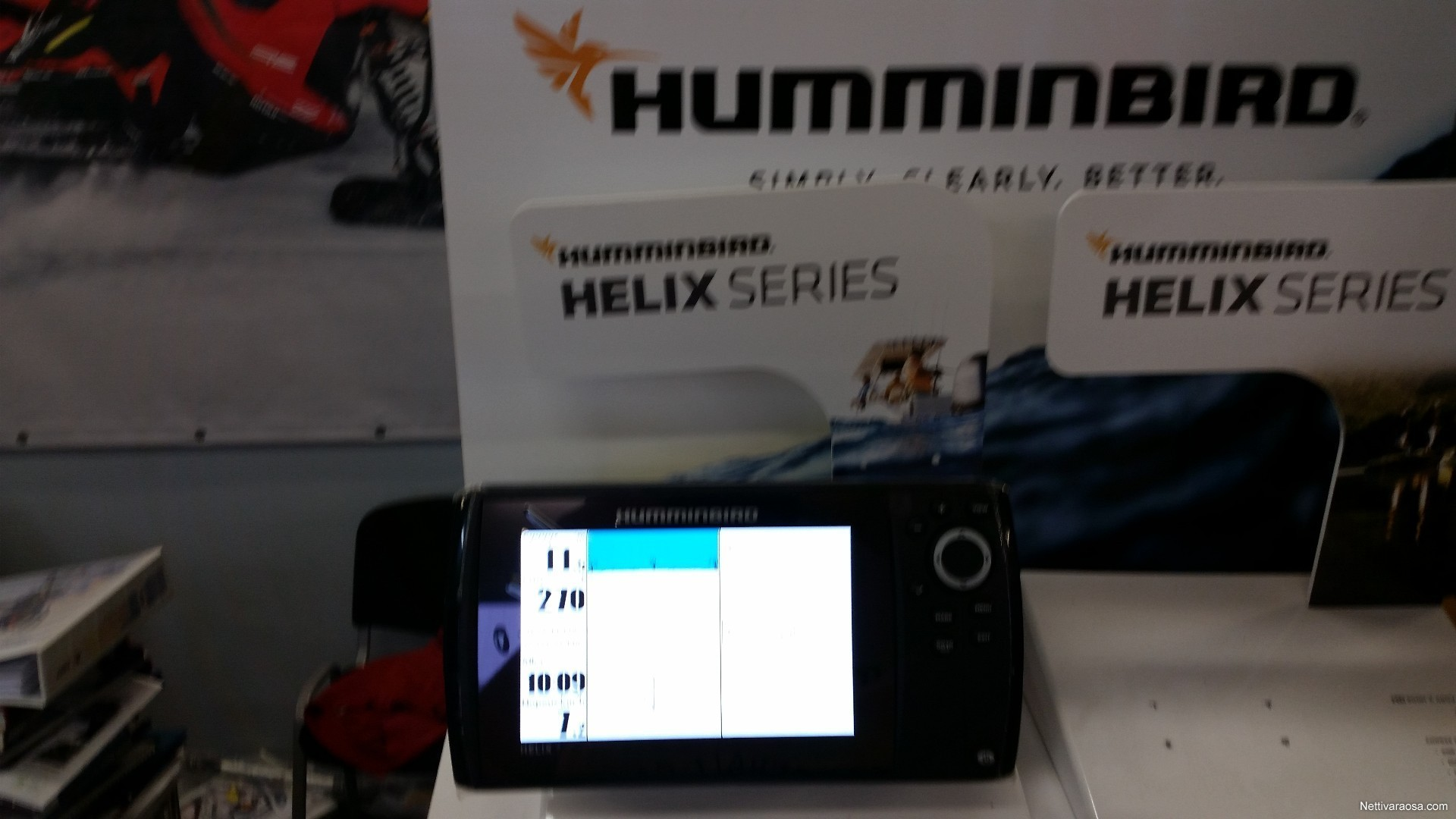 Humminbird Helix 7 si 2018 - Kaiku/plotteri - Boat accessories and parts -  Nettivaraosa