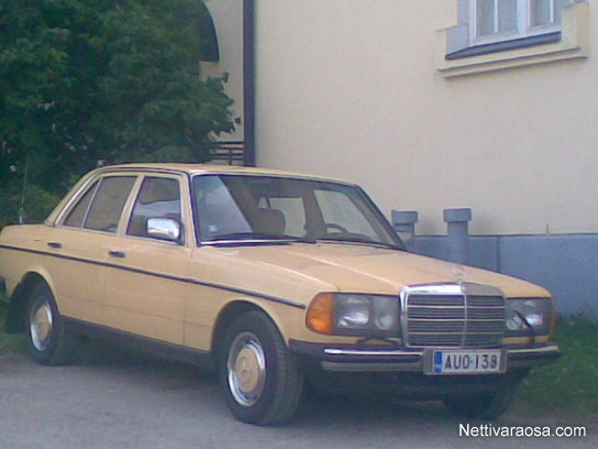 Nettivaraosa Mercedes Benz W123 200d 300d Mercedes W123 W124