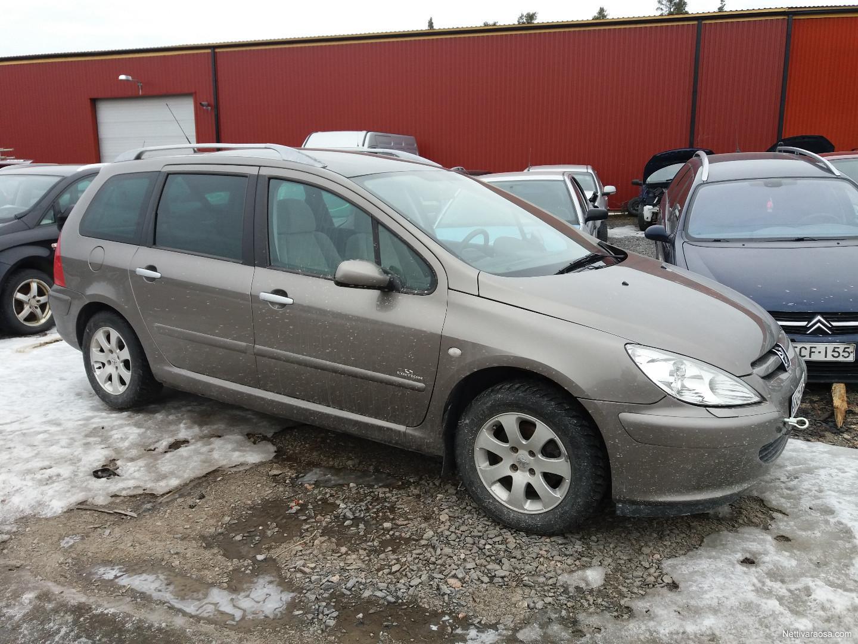 Nettivaraosa - peugeot 307 2005 - 1.6i - Spare- and crash cars ...