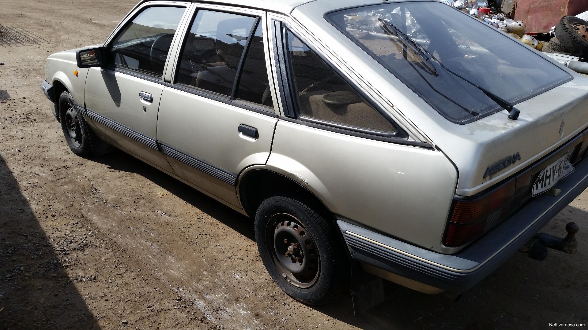 nettivaraosa opel ascona c 1 6 1986 spare and crash cars nettivaraosa. Black Bedroom Furniture Sets. Home Design Ideas