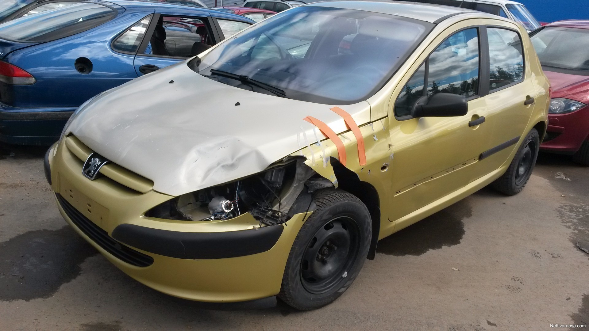 Nettivaraosa - Peugeot 307 2001 - 1.6 - Car spare parts - Nettivaraosa