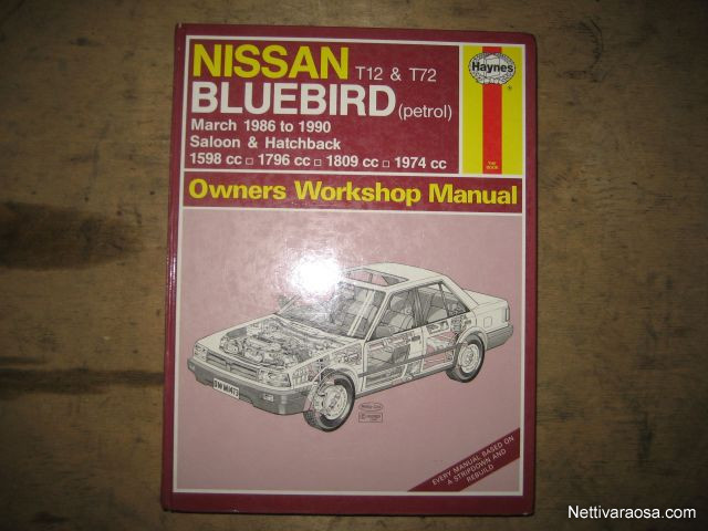 nettivaraosa nissan bluebird t12 vehicle literature nettivaraosa rh nettivaraosa com 1995 Nissan Bluebird Jamaica 1990 Nissan Bluebird Tuning