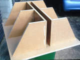 Subwoofer boxi 4x 33lit
