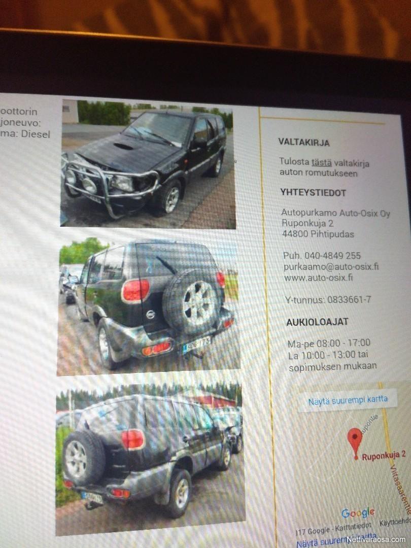 Nettivaraosa Nissan Terrano 2004 Spare And Crash Cars