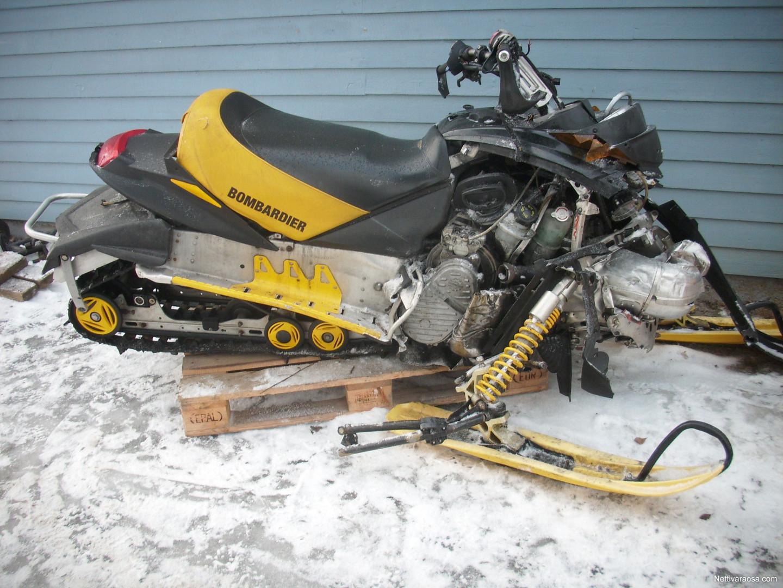 Nettivaraosa Ski Doo Mxz 600 Ho 2002 Puretaan Snow Mobile