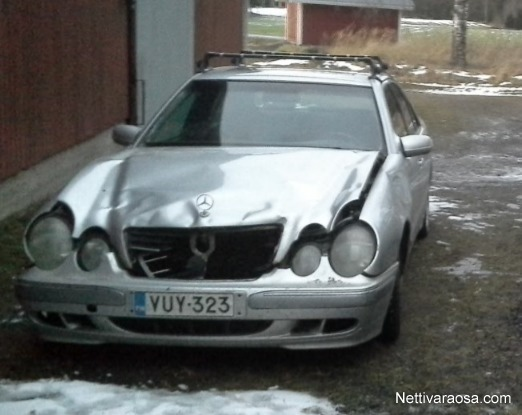 nettivaraosa mercedes benz e 270 cdi w210 2000 spare and crash cars nettivaraosa. Black Bedroom Furniture Sets. Home Design Ideas