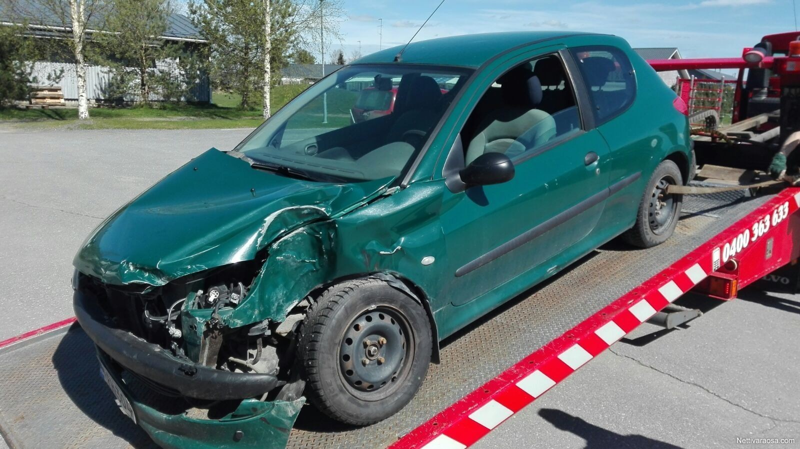 Nettivaraosa - peugeot 206 2002 - Spare- and crash cars - Nettivaraosa