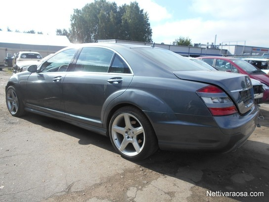 Mercedes W221 S Class Roof Spoiler AMG STYLE S320 S350 S500 S550 ...