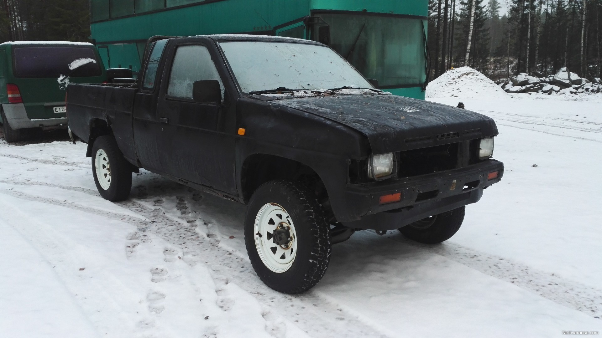 Nissan King Cab 1988 Hard 4x4 Pickup Nettivaraosa 1986 Spare And Crash Cars Rh Com Ebay Trucks