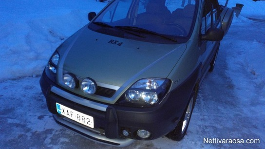 Nettivaraosa Renault Scenic Rx4 2002 19 Tdci Project Vehicles