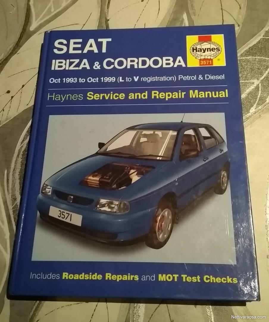 nettivaraosa haynes seat ibiza cordoba 1993 1999 vehicle rh nettivaraosa com manual seat ibiza tdi 1999 manual seat ibiza 1999 pdf