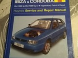 Haynes Seat Ibiza