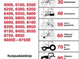 Valtra  6000 8000 sarja