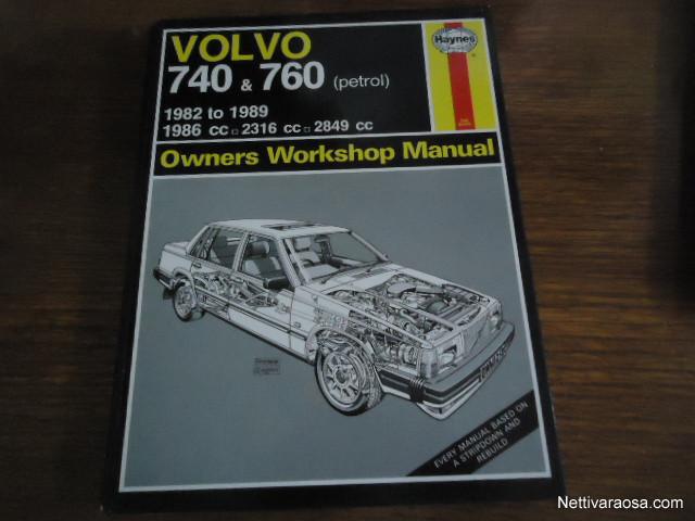 volvo 740 1989 manual