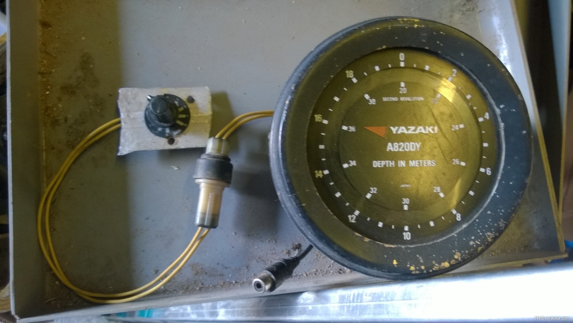 Wiring Tachometer Yazaki Trusted Diagrams Faze Tach Nettivaraosa Mittari Boat Accessories And Parts Diagram