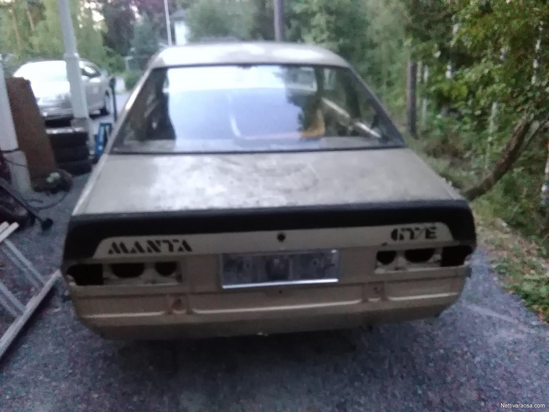 Nettivaraosa Opel Manta Car Spare Parts 1973 Interior