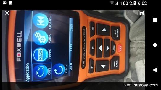 Nettivaraosa - Foxwell NT510 Porsche scanner ...